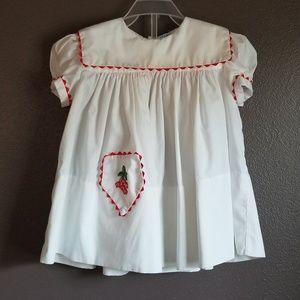 Vintage infant girl dress
